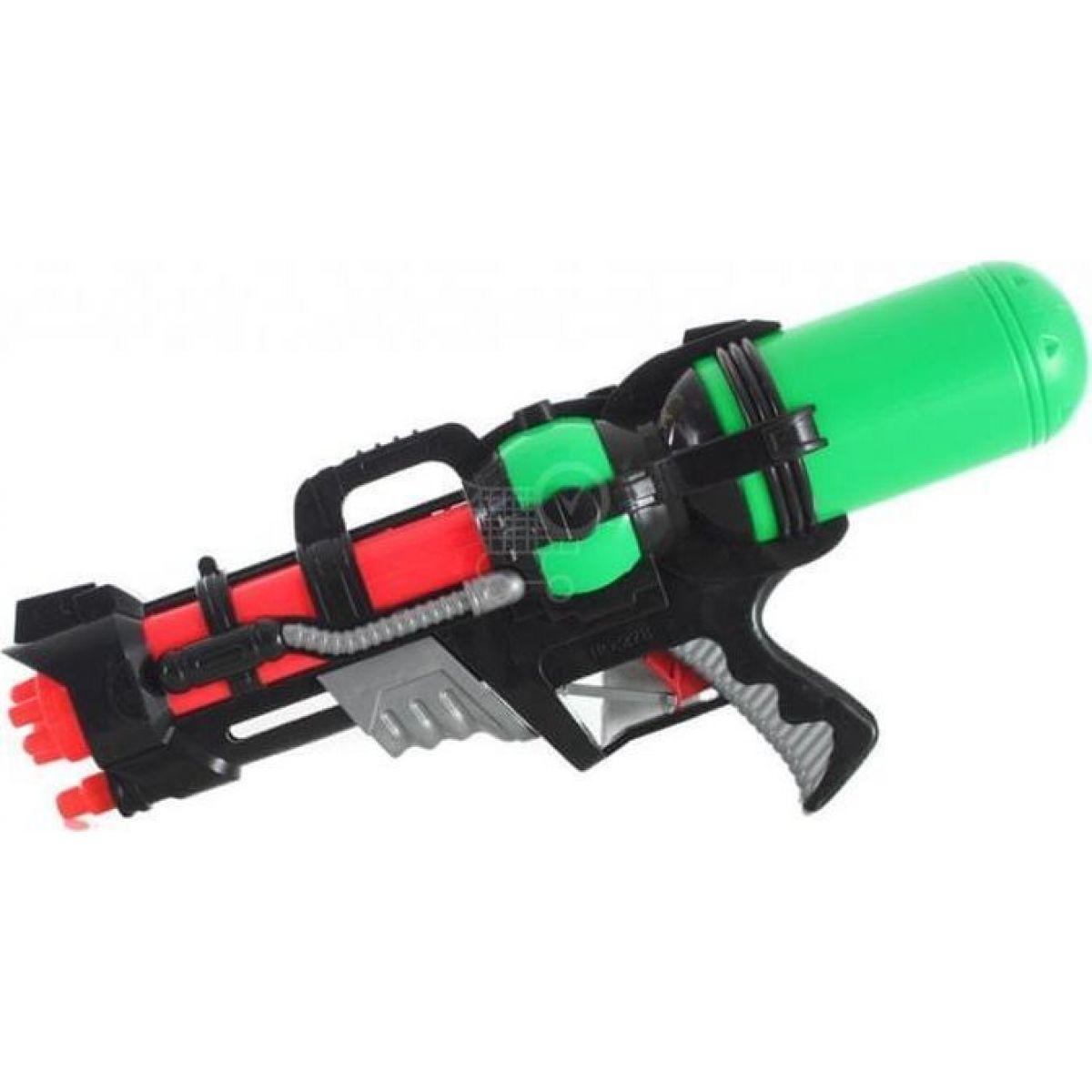 Vodné pištole 46 cm zelená nádrž