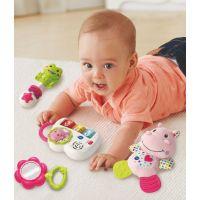 Vtech Prvý darček pre bábätko CZ ružový 4