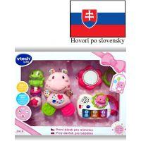 Vtech Prvý darček pre bábëtko (SK) - ružový