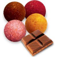 Výroba kúpeľových bômb - čokoláda 2