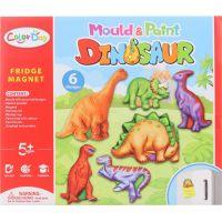 Výroba magnetov dinosaury