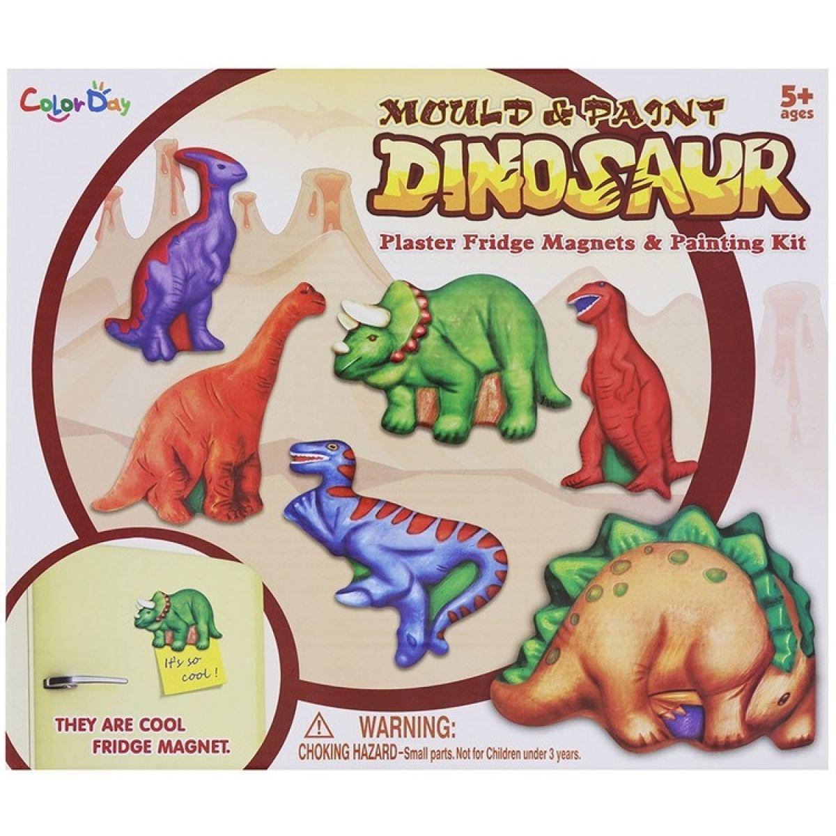 Výrobok zo sadry Dinosaury