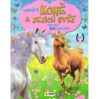 Vytvoř si Koně a jejich svět 800 samolepek