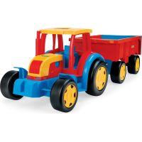 Wader Gigant traktor s vlečkou