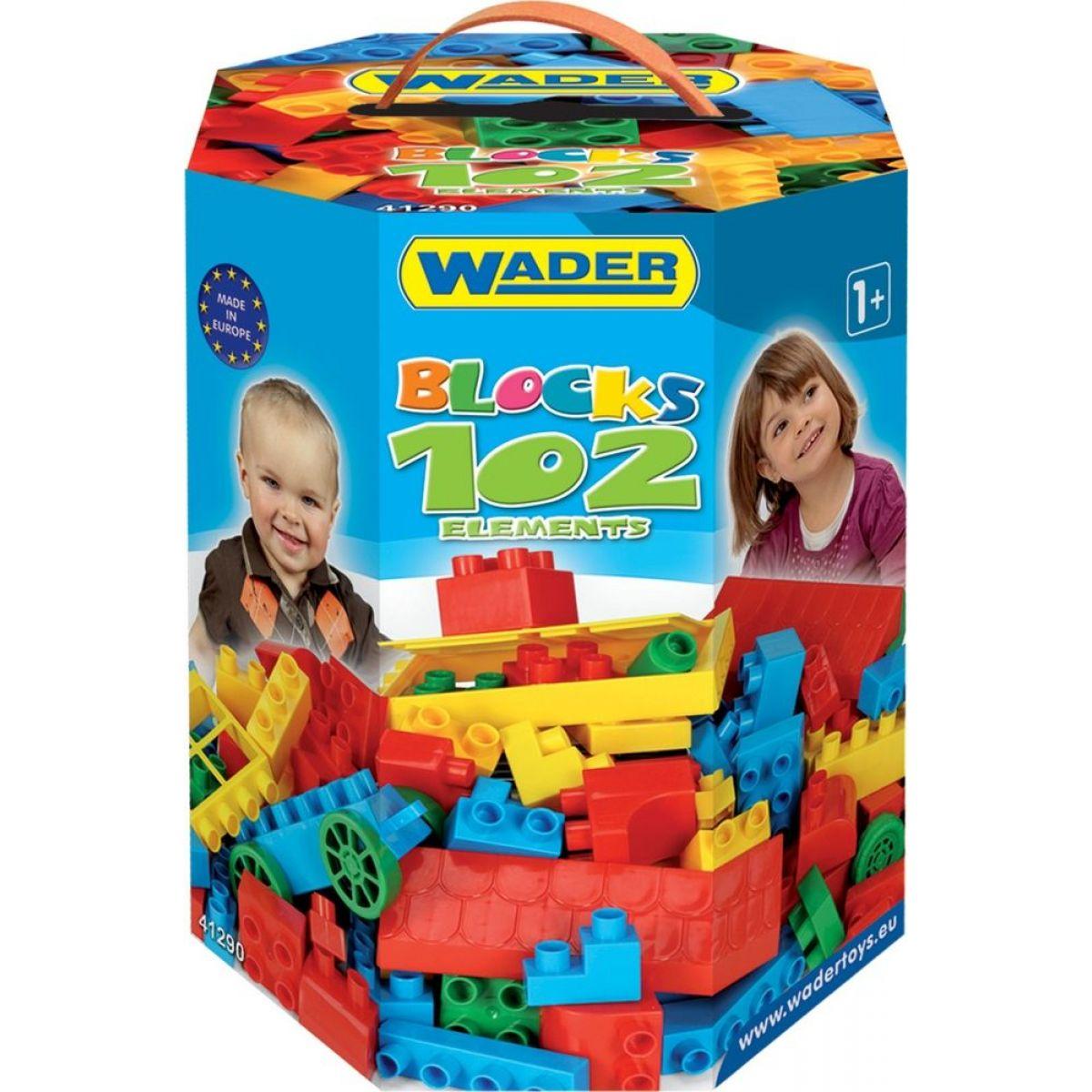 Wader 41290 Kocky 102 dielikov v boxu pre chlapcov