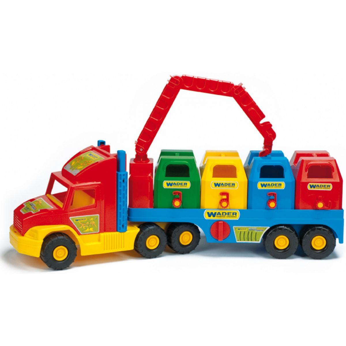 Wader 36530 Auto Super Truck popelářský vůz