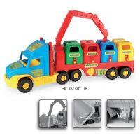 Wader 36530 Auto Super Truck popelářský vůz 3