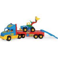 Wader 36520 Auto Super Truck přeprava nakladače 75 cm