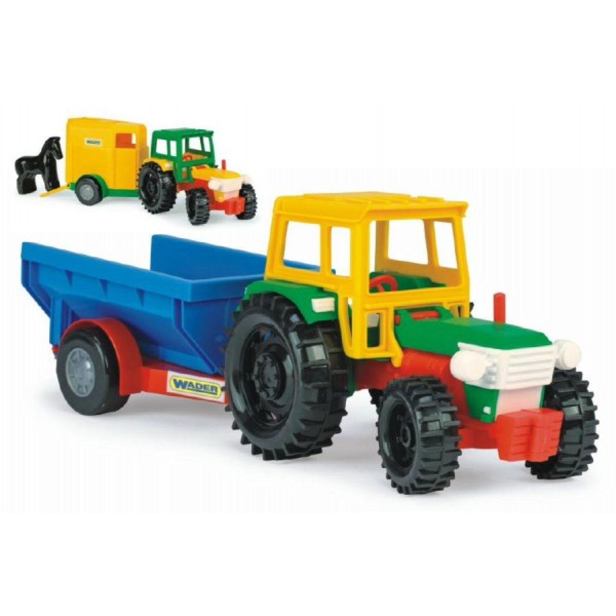 Wader Traktor s vlečkami 38cm