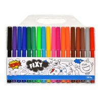 Wiky Fixy barevné 18 ks