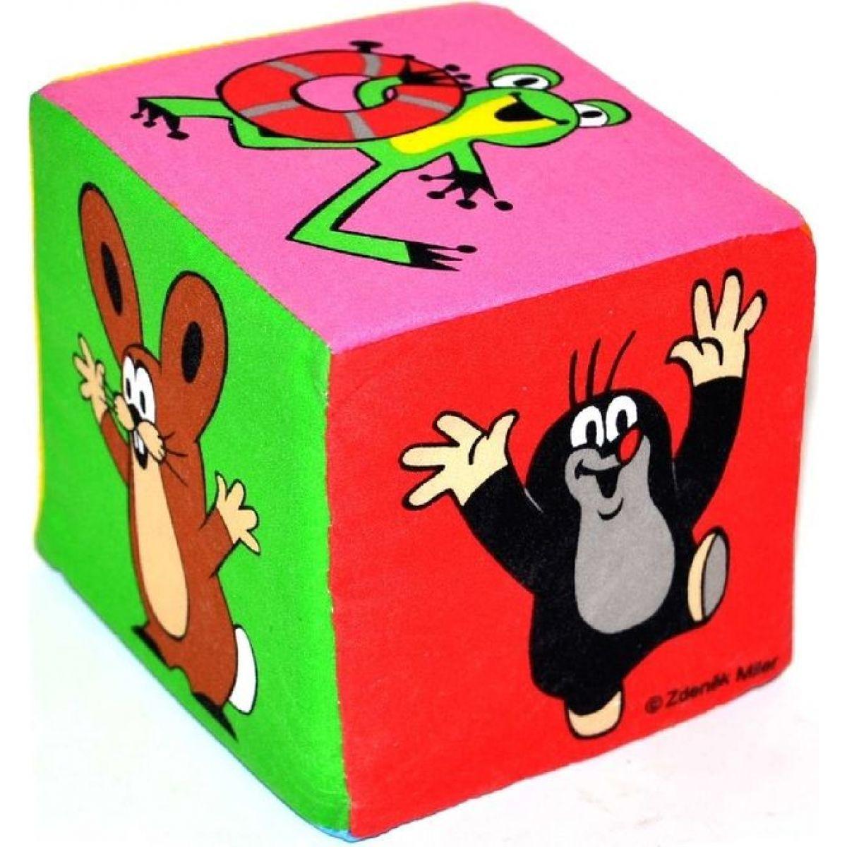 Wiky Krtko textilná veľká kocka