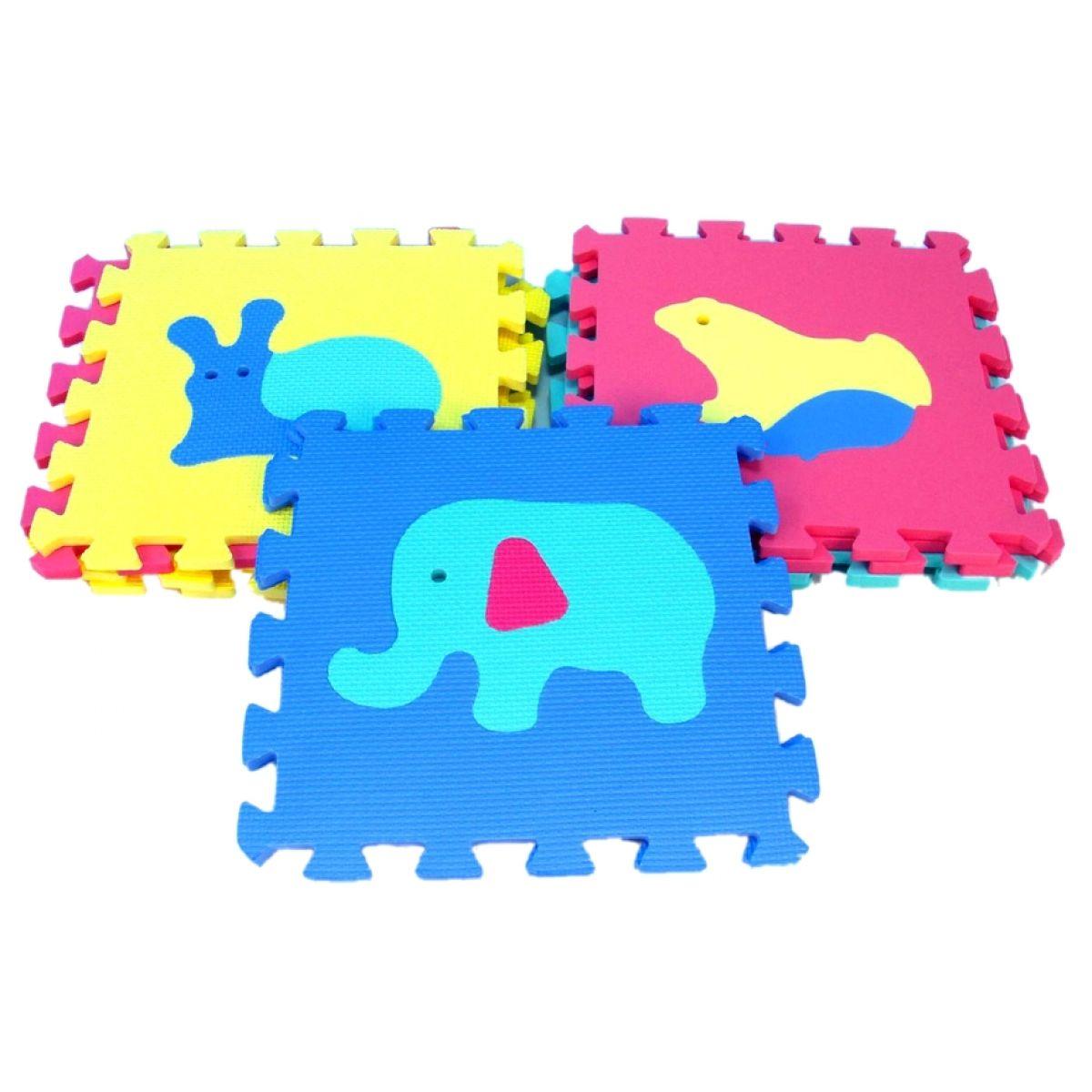 Wiky Penové puzzle Zvieratá 10ks