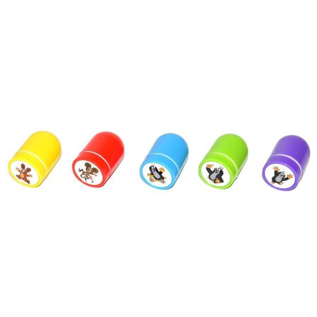 Wiky Pečiatky Krtko 5 farieb