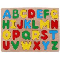 Woody Puzzle na doske Abeceda