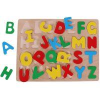 Woody Puzzle na doske Abeceda 2