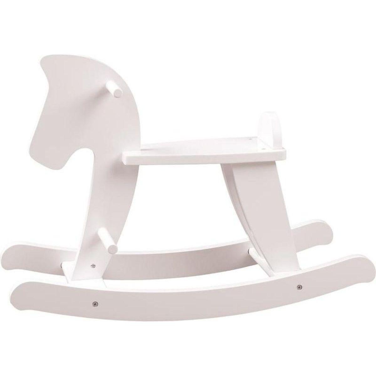 Woody Hojdací kôň - biely