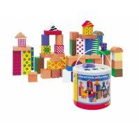 Woody kocky farebné s potlačou 50 ks