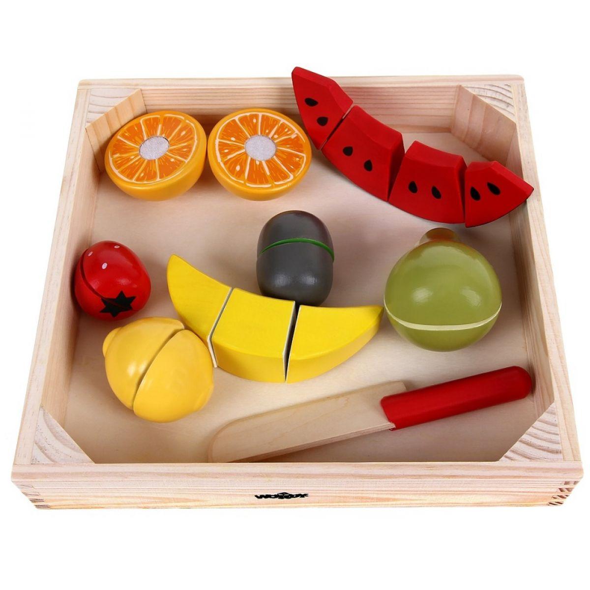 Woody Krájanie na doske ovocia s melónom