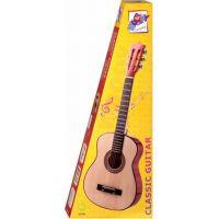 Woody Gitara drevená kovové struny 80 cm 4