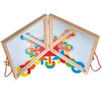 Magnetický kreatívny kufrík s tvarmi 2
