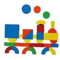Magnetický kreatívny kufrík s tvarmi 3