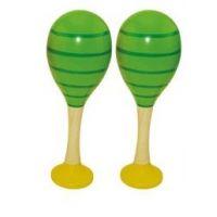 Woody Maracas zelené - dětská perkuse