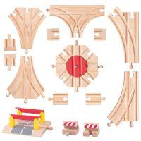Woody Rozšírený set koľají: výhybky, koncovky, točňa