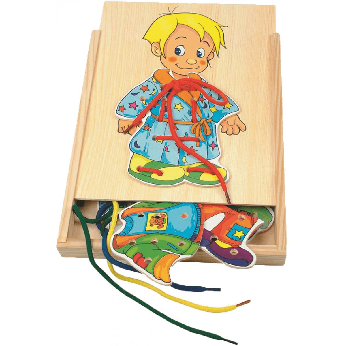Woody Šnurovacia šatníková skriňa Chalan