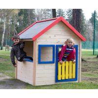 Woody Záhradný domček s farebným lemovaním 2