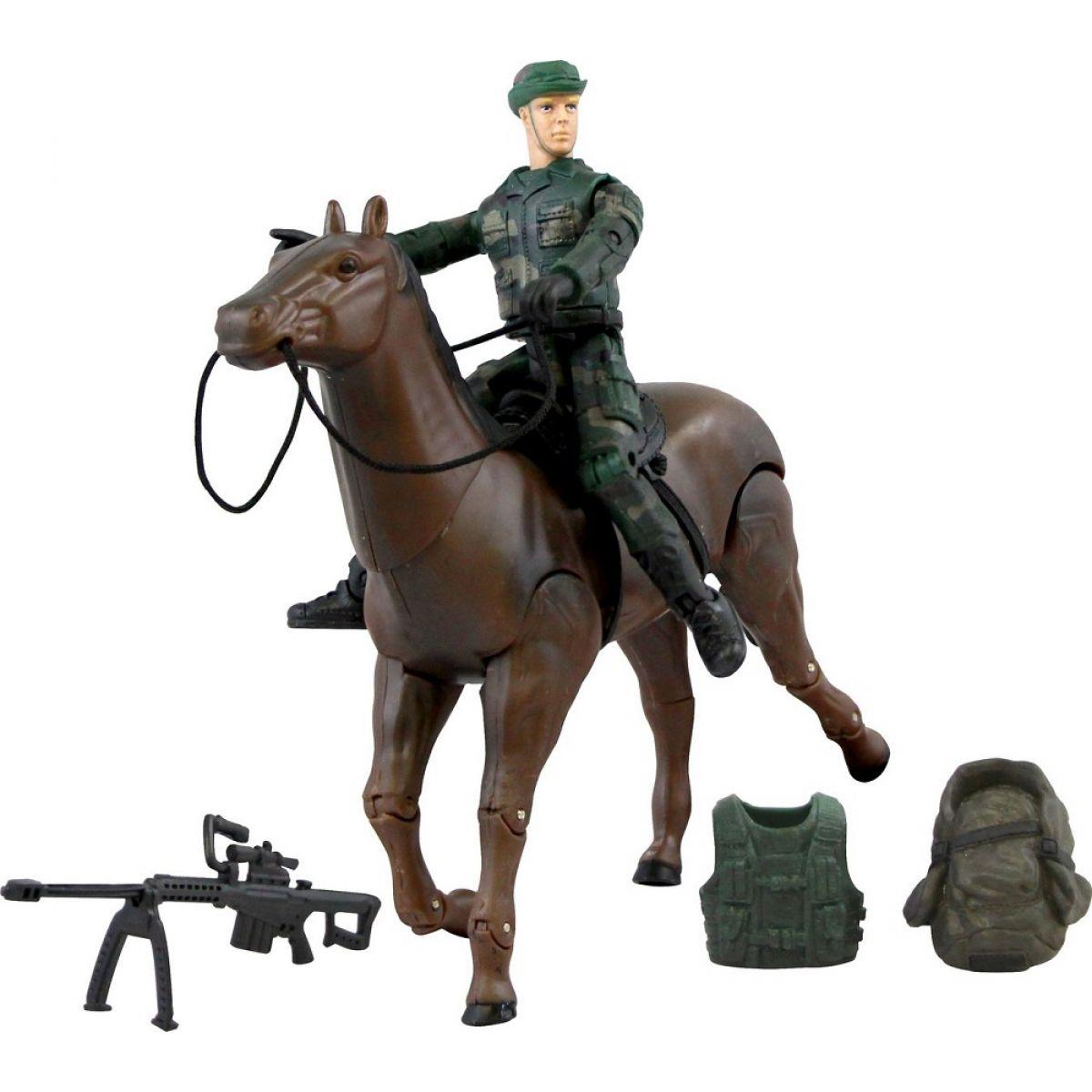 World Peacekeepers vojáka s doplňky Voják na koni