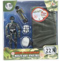 World Peacekeepers vojáka s doplňky Voják s padákem 2