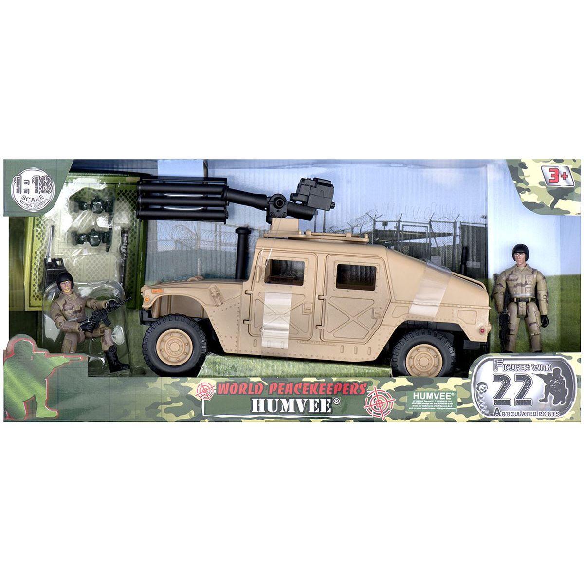 EP Line World Peacekeepers Vojenské Humvee Béžové