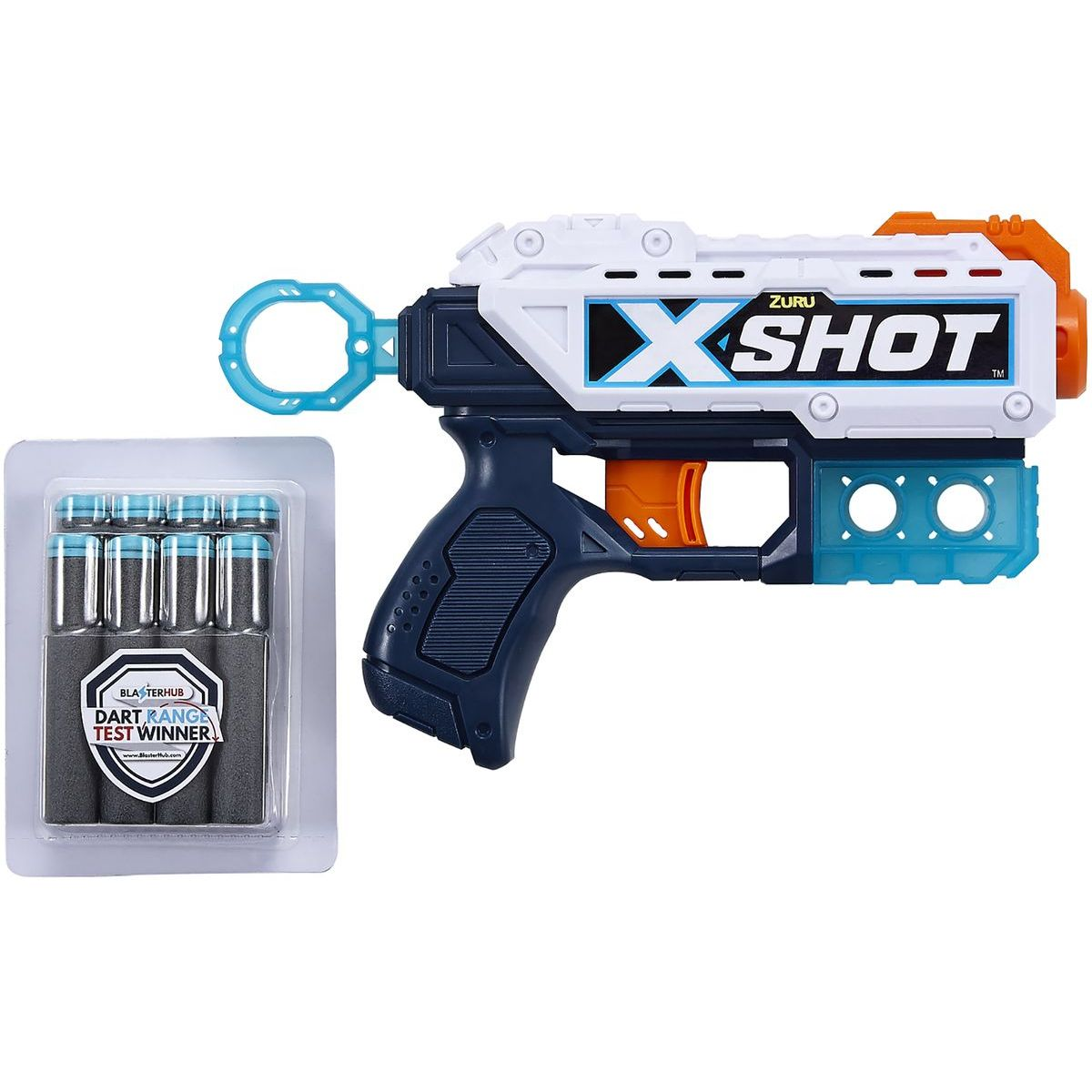 X-Shot Kickback s 8 nábojmi