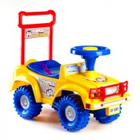 Yupee Odrážedlo auto Jeep žlté