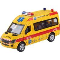 Záchranáři Mercedes-Benz 1:32 bez obalu