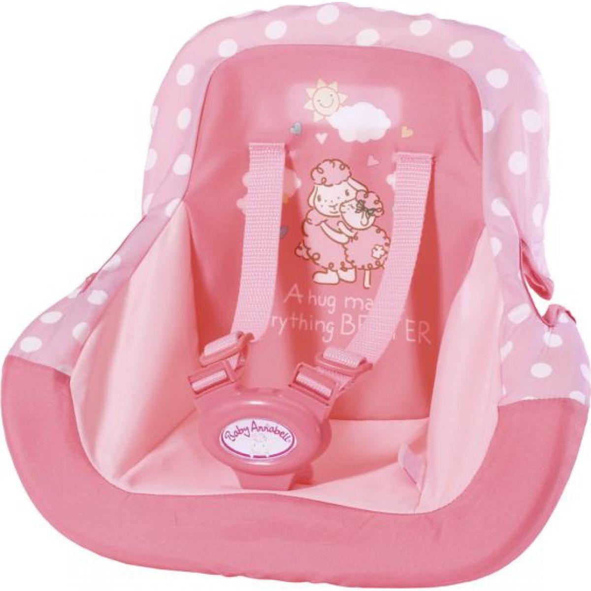 Zapf Creation Baby Annabell Autosedačka