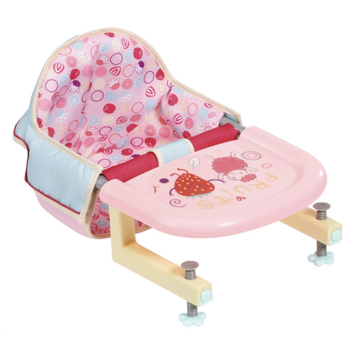 Zapf Creation Baby Annabell Jedálenský stolička s uchytením na stôl Fruits