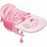 Zapf Creation Baby Annabell Jedálenská stolička s uchytením na stôl