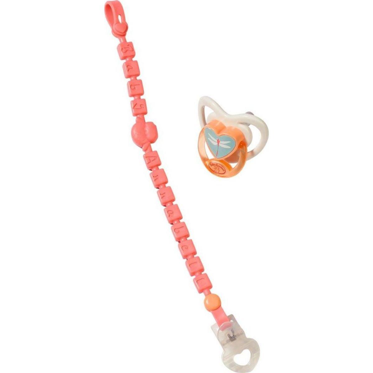 Zapf Creation Baby Annabell ® Cumlík s klipom ružový