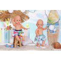 Zapf Creation Baby Born Plavky kraťasy 43 cm farebné 3