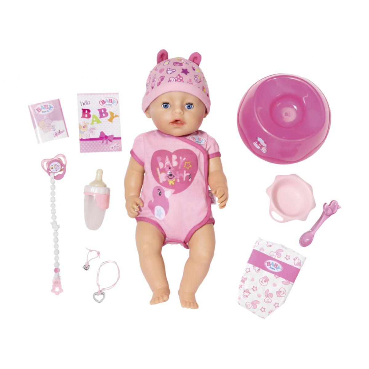 Zapf Creation Baby Born Soft Touch dievčatko 43 cm