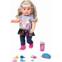 Zapf Creation BABY born Starší sestřička Soft Touch blondýnka, 43 cm - Poškozený obal