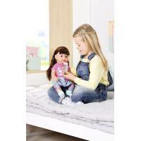 Zapf Creation BABY born Starší sestřička Soft Touch brunetka, 43 cm 3