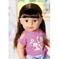 Zapf Creation BABY born Starší sestřička Soft Touch brunetka, 43 cm 2