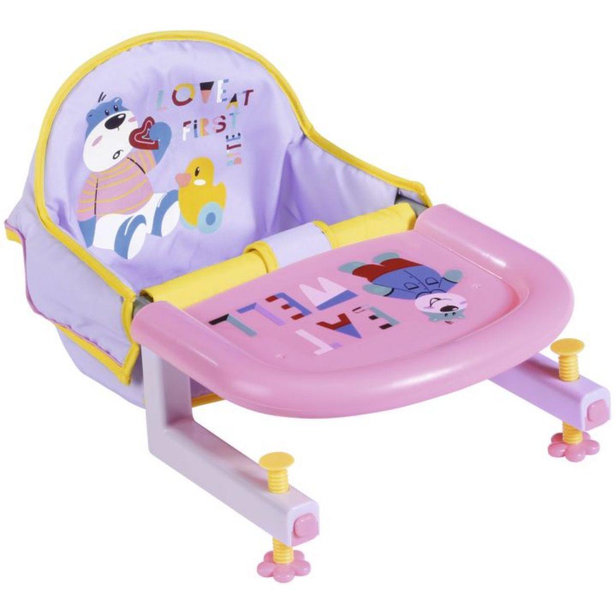 Zapf Creation Baby born ® Jedálenský stolička na stôl s uchytením