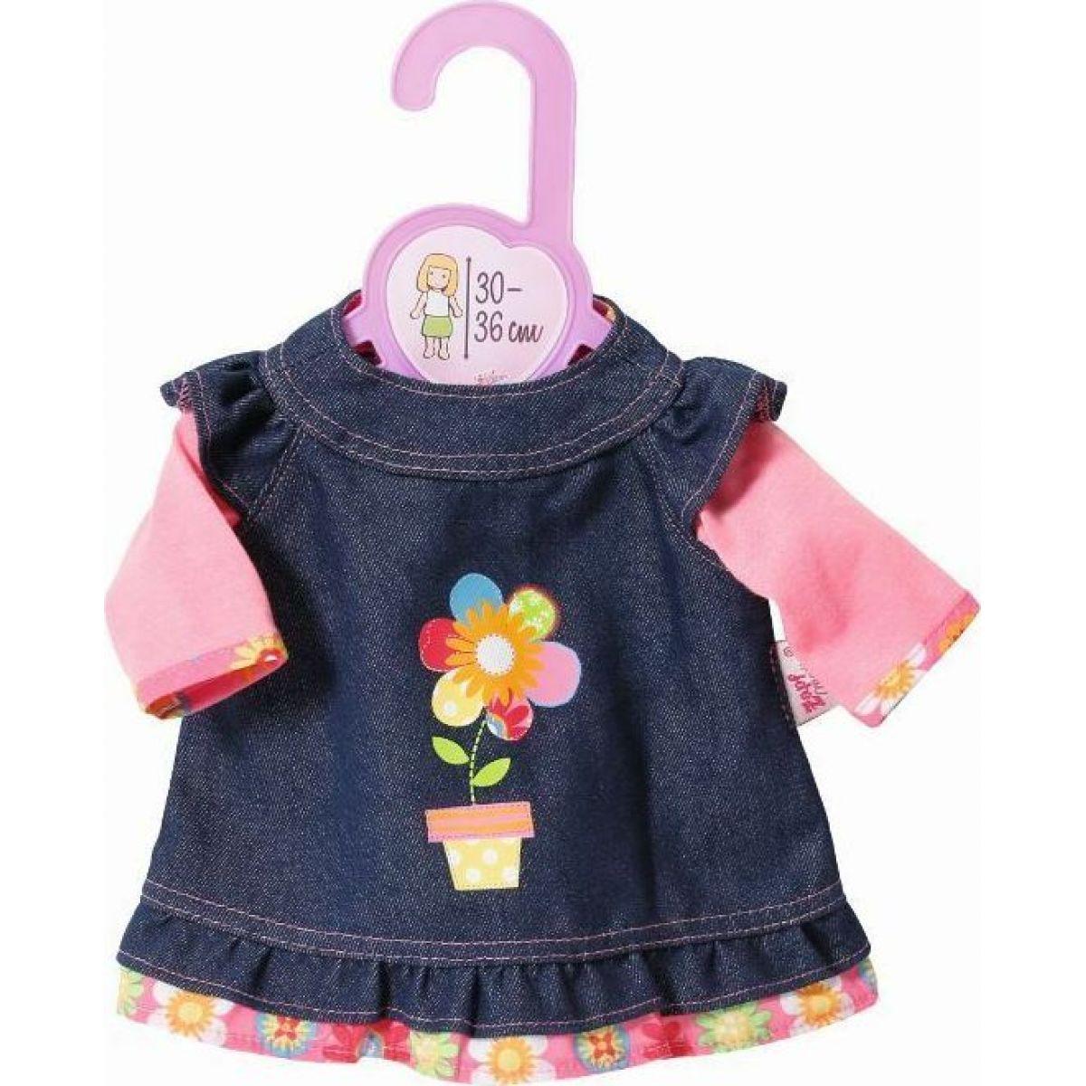 Zapf Creation Dolly Moda Džínsové šatičky 30 cm
