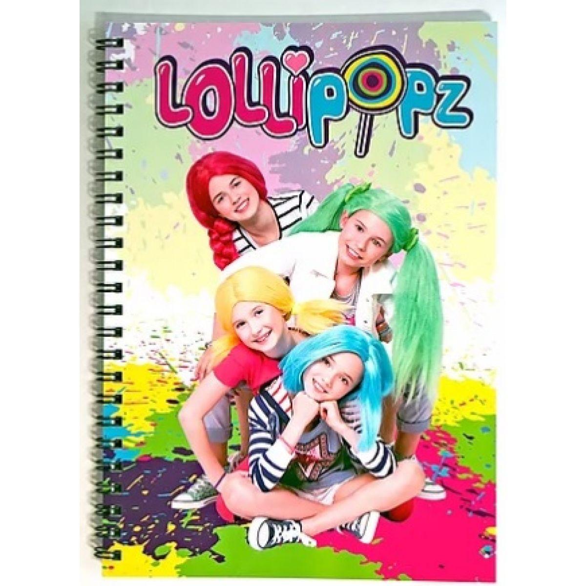 Zápisník Lollipopz veľkosť A5