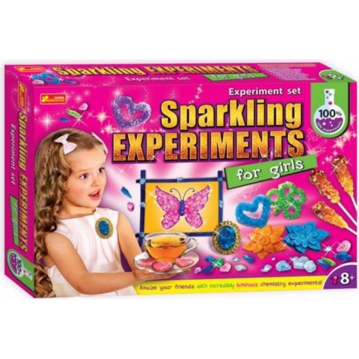 Zářivé experimenty pro dívky