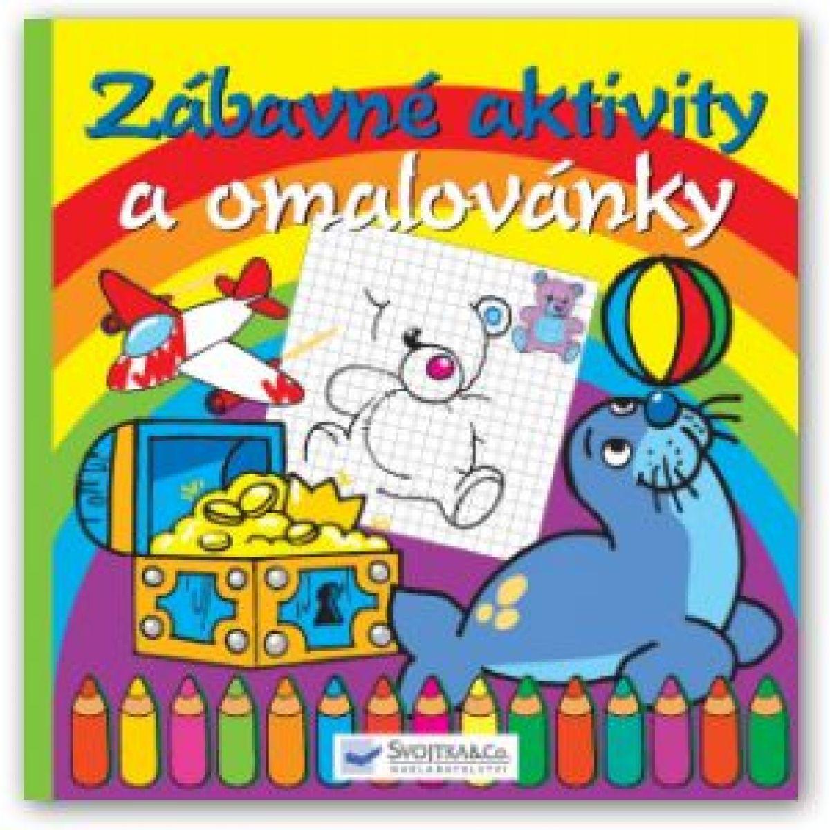 SVOJTKA & Co 0103331 - Zábavné aktivity a omalovánky