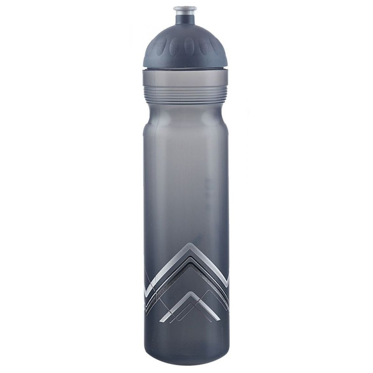 Zdravá fľaša Bike Hory šedá 1,0l